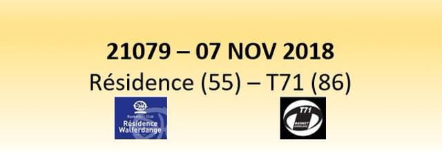 N1D 21079 Résidence (55) - T71 (86) 07/11/2018