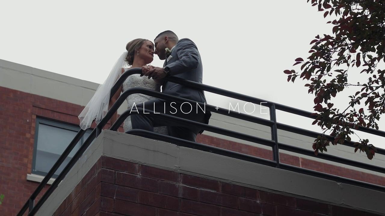 allison + moe | wedding film.