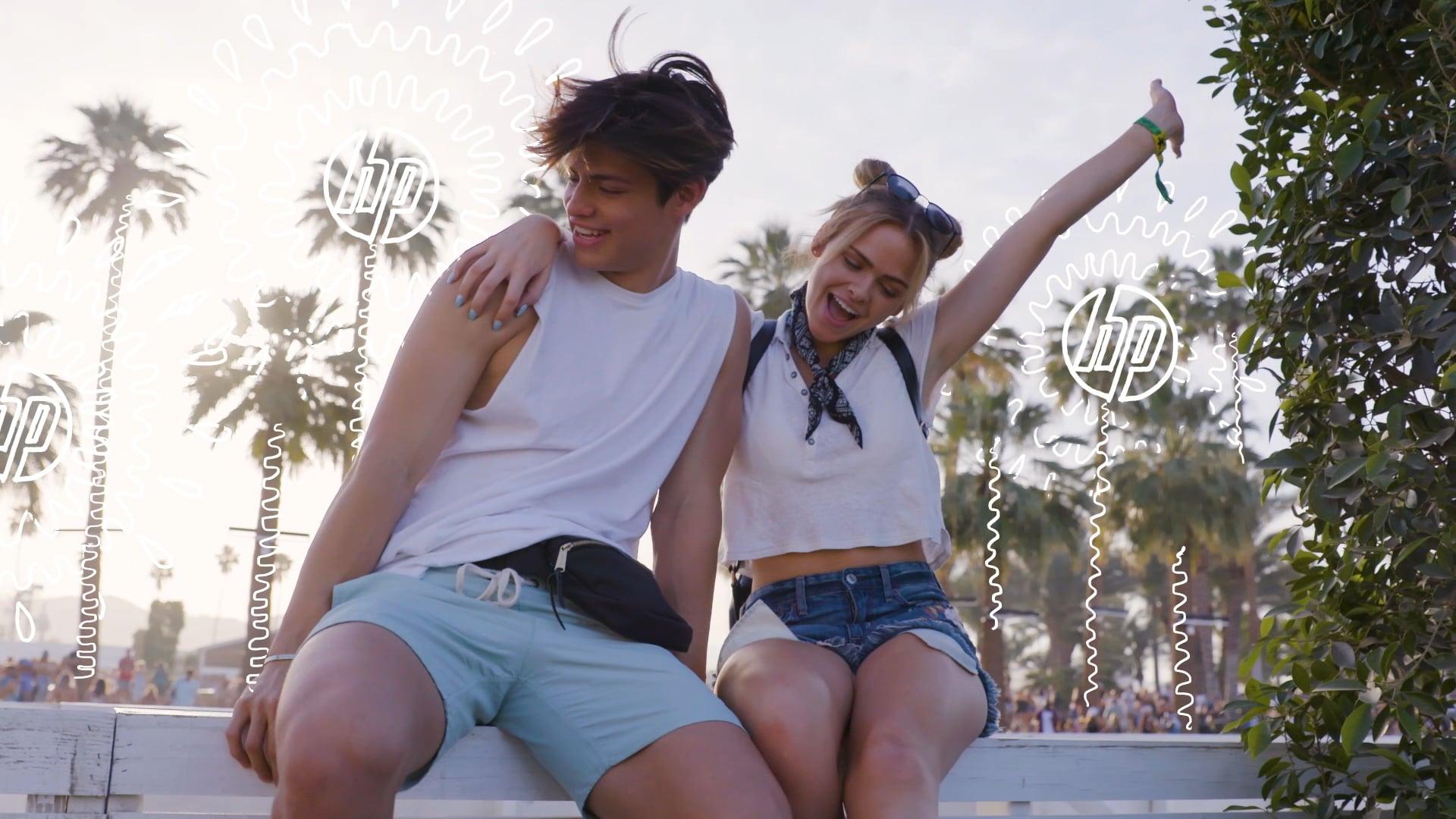 Coachella with Dylan Jordan - HP