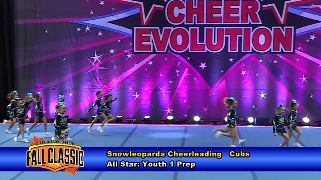 Snowleopards Cheerleading   Cubs   Youth 1 Prep