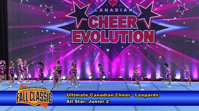 Ultimate Canadian Cheer   Leopards   Junior 2