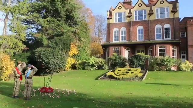 Caterham School  Commemoration - 100th Anniversary of the Armistice