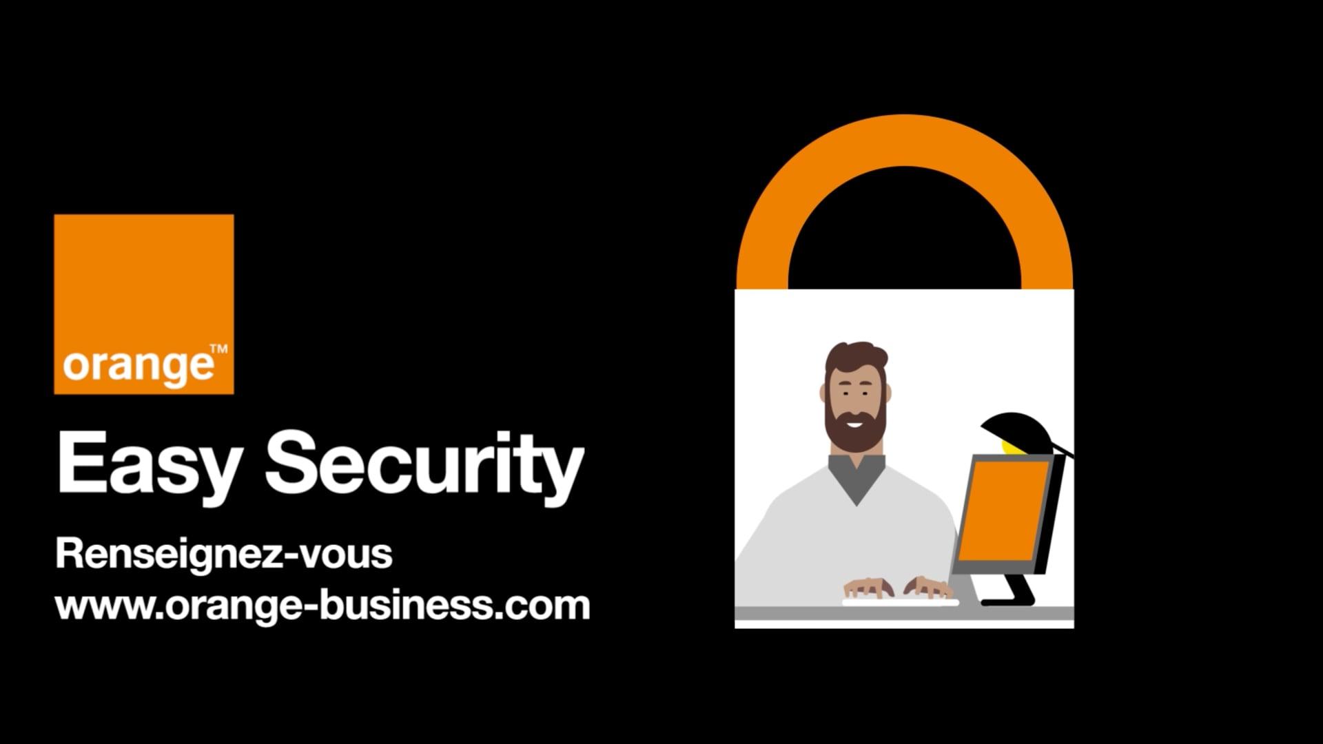 Orange - Easy Security