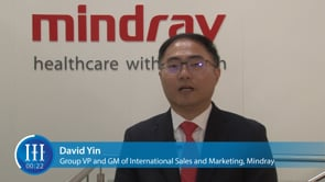 Could you briefly introduce Mindray's vision and global performance, I-I-I Video with David Yin