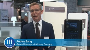 In which areas is Mindray especially successful in Germany, I-I-I Video with Anders Bang