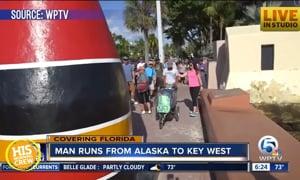 Man Finishes Crazy Long Run From Alaska to Florida
