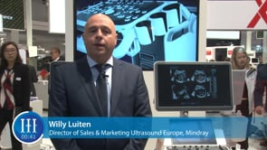 What's the characteristic of ultrasound market in Europe, I-I-I Video with Willy Luiten