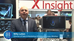 What is the Mindray Medica 2018 product launch, I-I-I Video with Willy Luiten