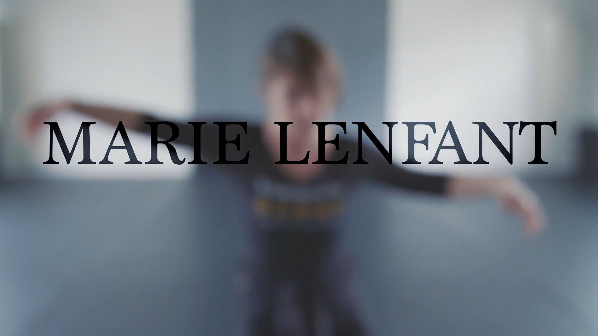 PORTRAIT DE MARIE LENFANT