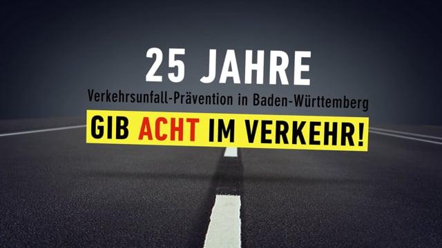 """POLIZEI: """"25 Jahre Gib 8 im Verkehr"""""""