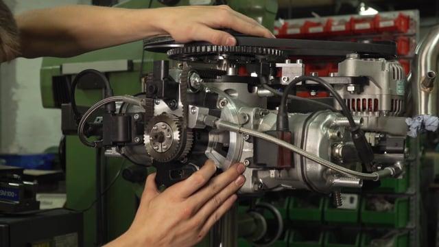 Arens Motors - Kleinster 15PS Einbaumotor