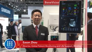 How is the performance of Patient Monitoring and Life Support products in the Europe market, I-I-I Video with Eason Zhou