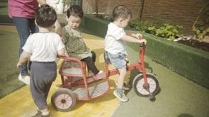 Watch Three on a bike