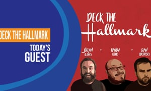 Local Guys Get Natl. Attention for Deck the Hallmark Podcast