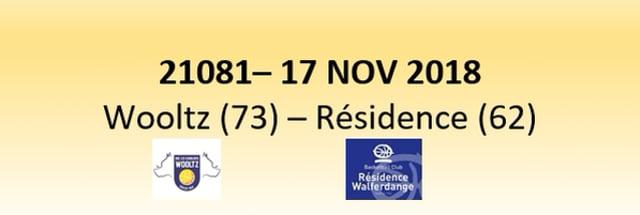 N1D 21081 Les Sangliers Wooltz (73) - Résidence Walferdange (62) 17/11/2018