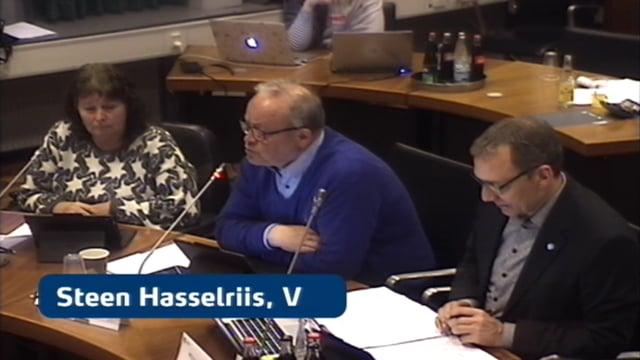 Byrådsmøde d. 22 marts 2018