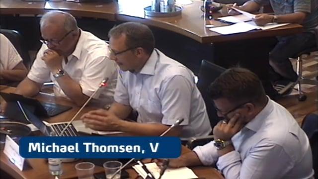 Byrådsmøde d. 31 maj 2018