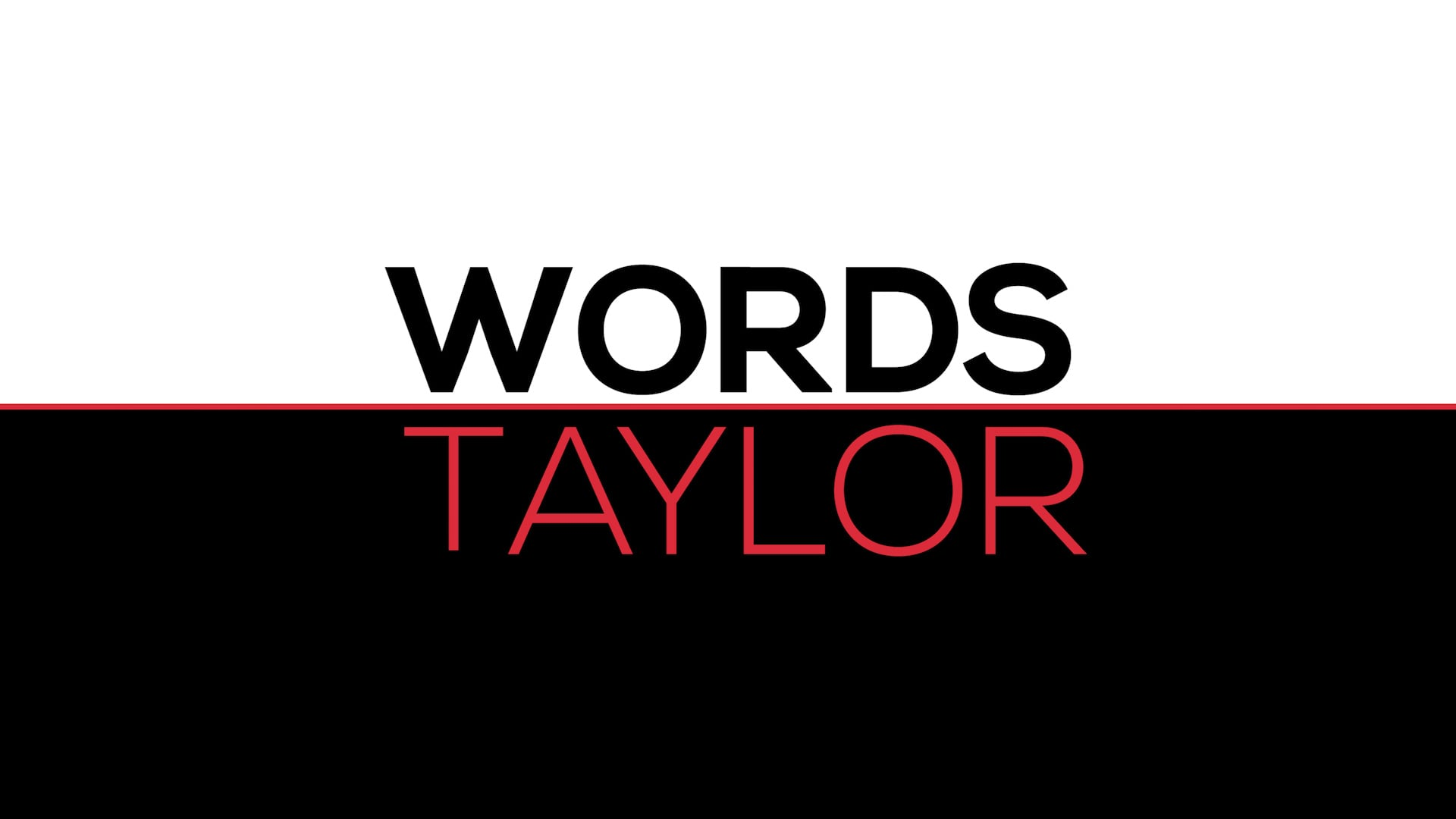 Words Taylor - Power Move // SOCIAL