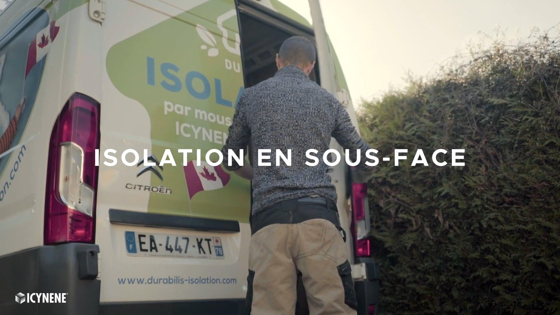 Isolation en sous-face | Icynene