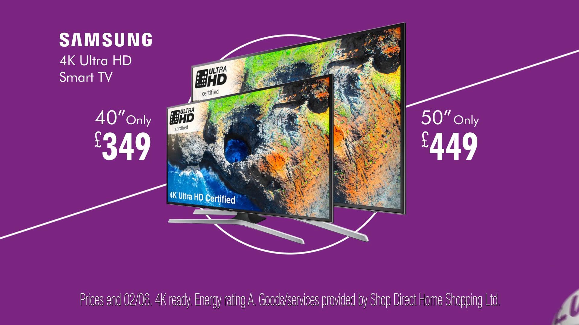 Littlewoods - 224346_1 - Littlewoods - SS18 Promos - 20sUK TV - Samsung TVs - R128 6fr -  v03a