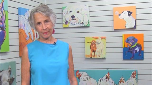 Pat Saunders White: My World of Art
