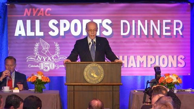 The New York Athletic Club All Sports Dinner 2018