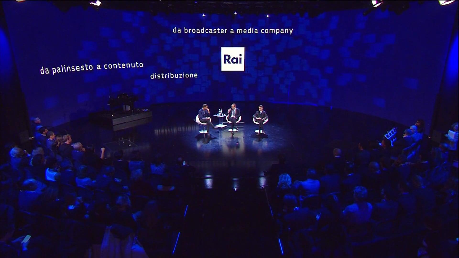 Grafica multimediale per l'evento crossmediale The Line 2017 - Cliente Finale RAI