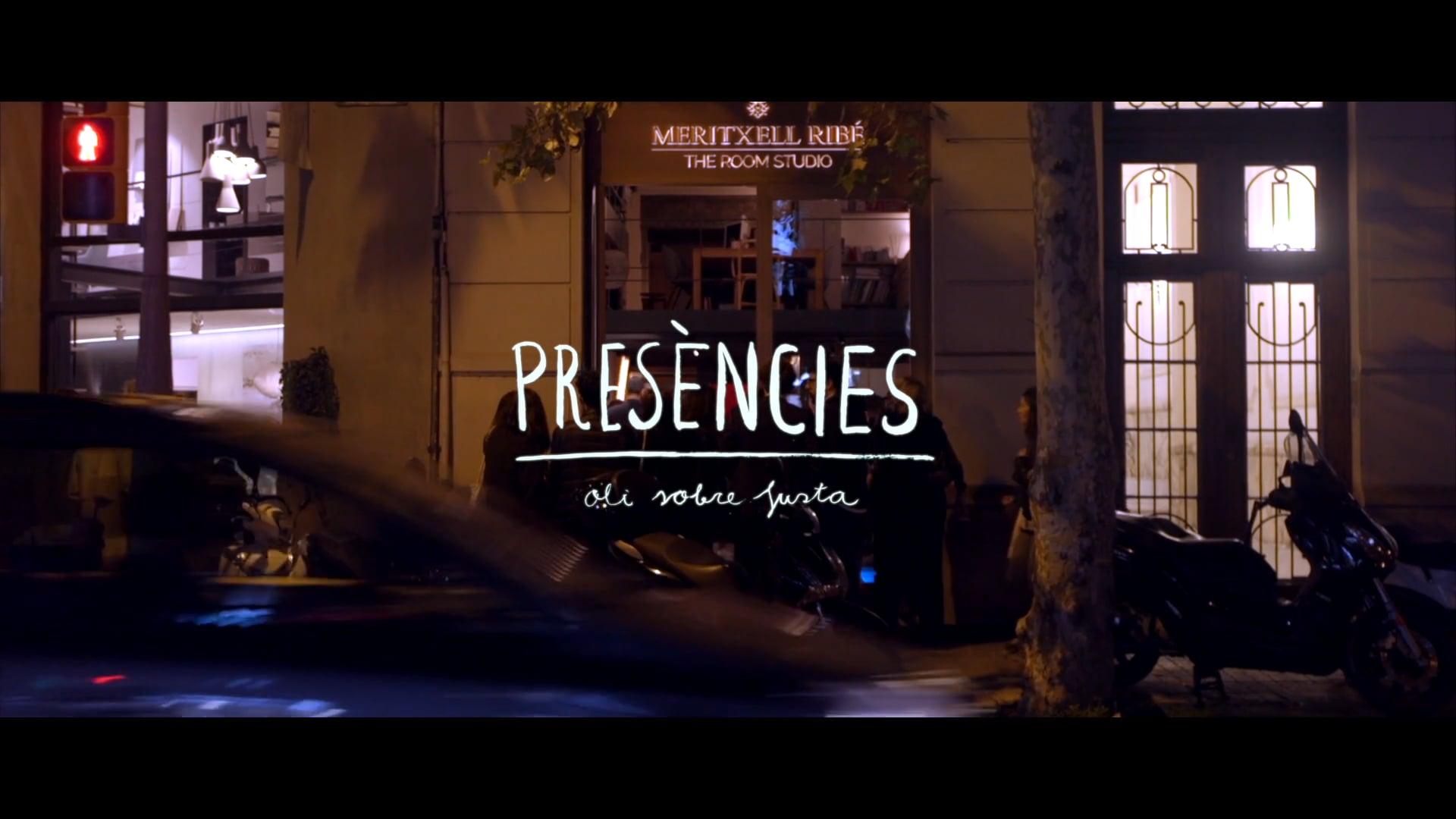 "Presentación exposición ""Presències"" de Joana Santamans"