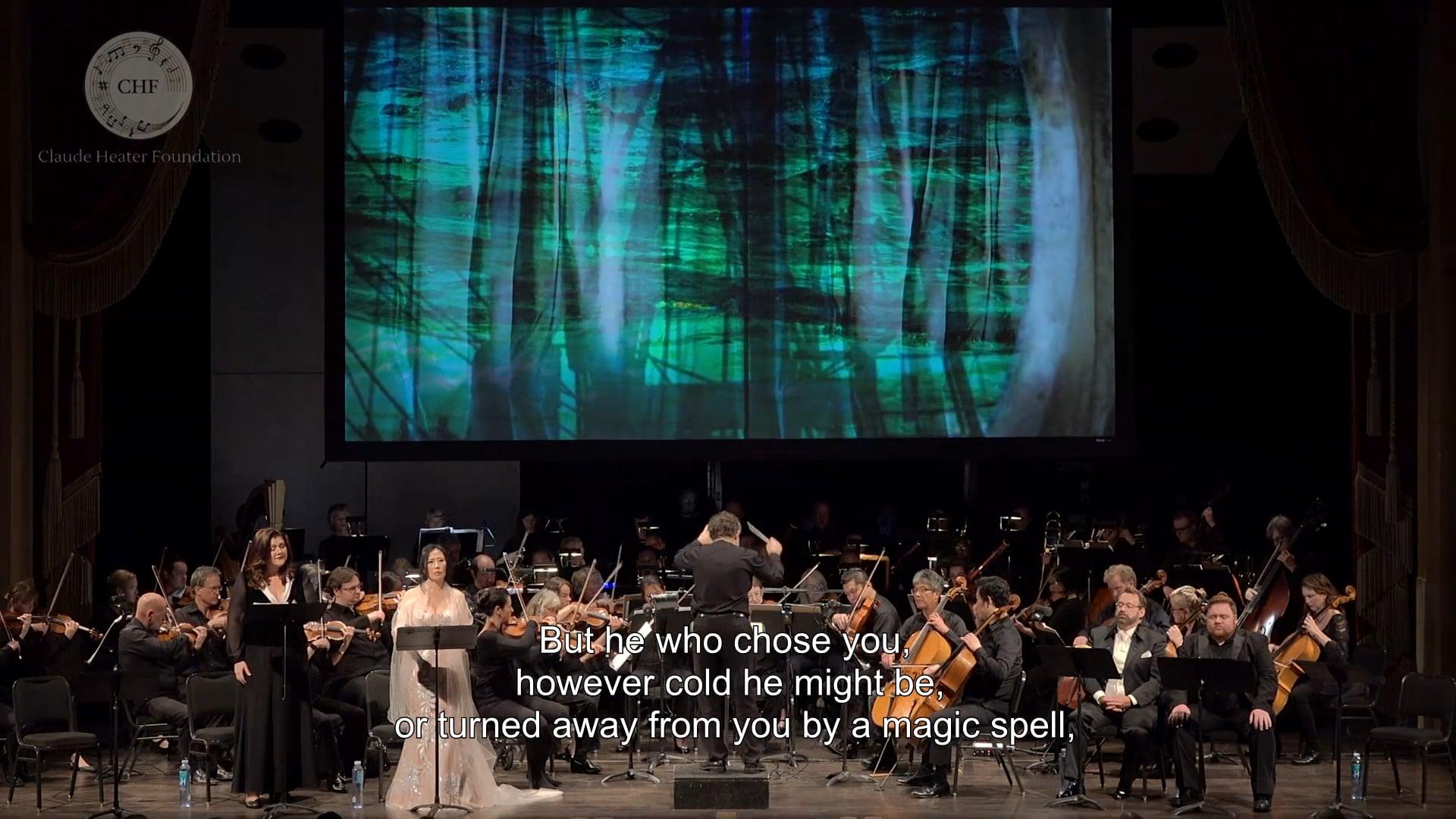 """Brangäne 2 """"Was Meinst du Arge"""" """"Wehe, weh!"""" and """"sie wacht"""" (Live Tristan & Isolde)"""