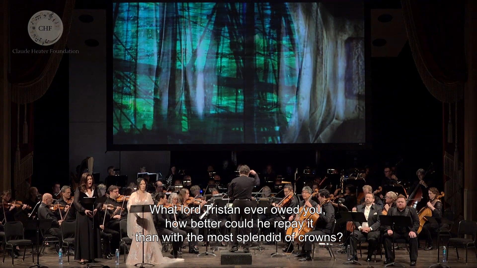"""Brangäne 4 """"blaue Steifen"""" """"Tristan Mein Herre"""" and """"Oh süsse, traute"""" (Live Tristan & Isolde)"""