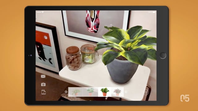 Augmented Reality Plants