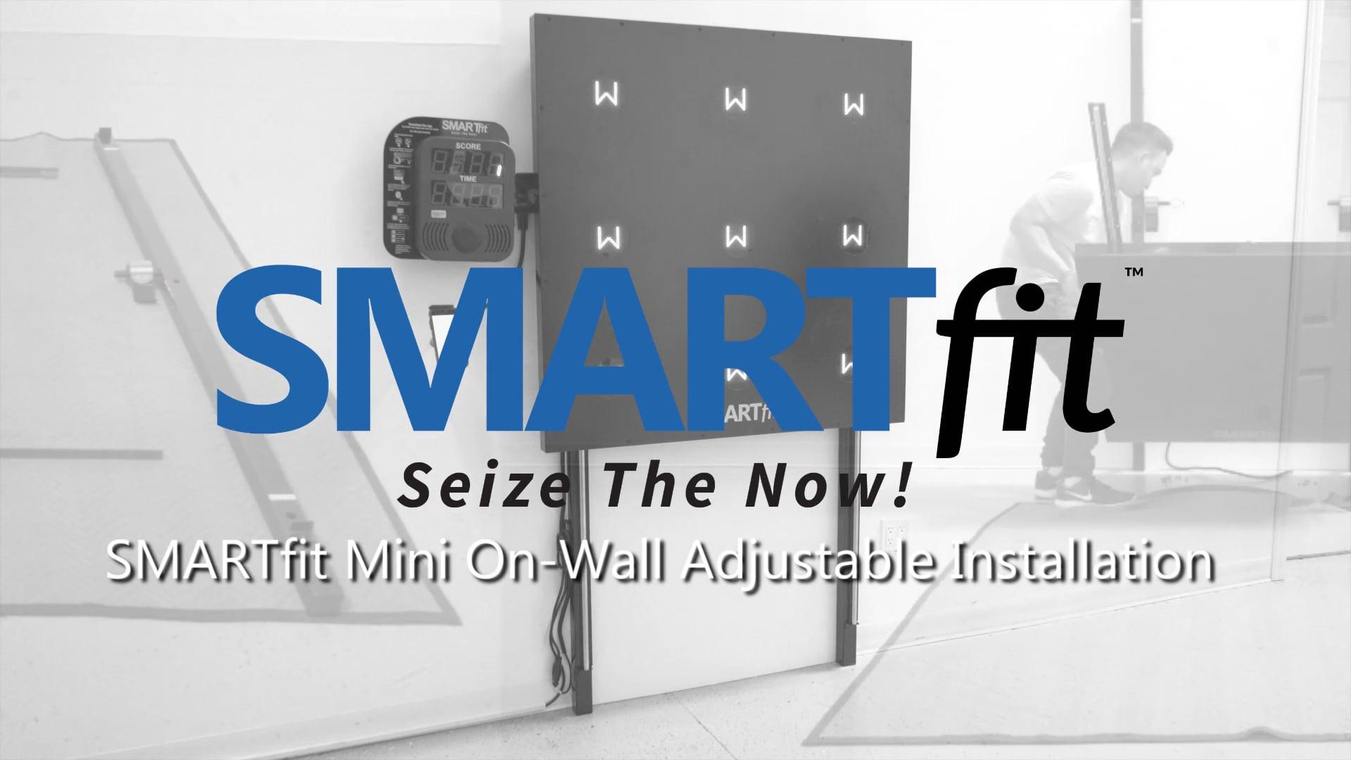 SMARTfit Mini On-Wall Adjustable Installation