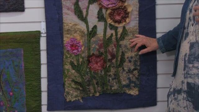Melanie Hutchinson Textile Art: My Pride and Joy