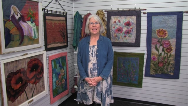 Melanie Hutchinson: Window Painting and Textile Art