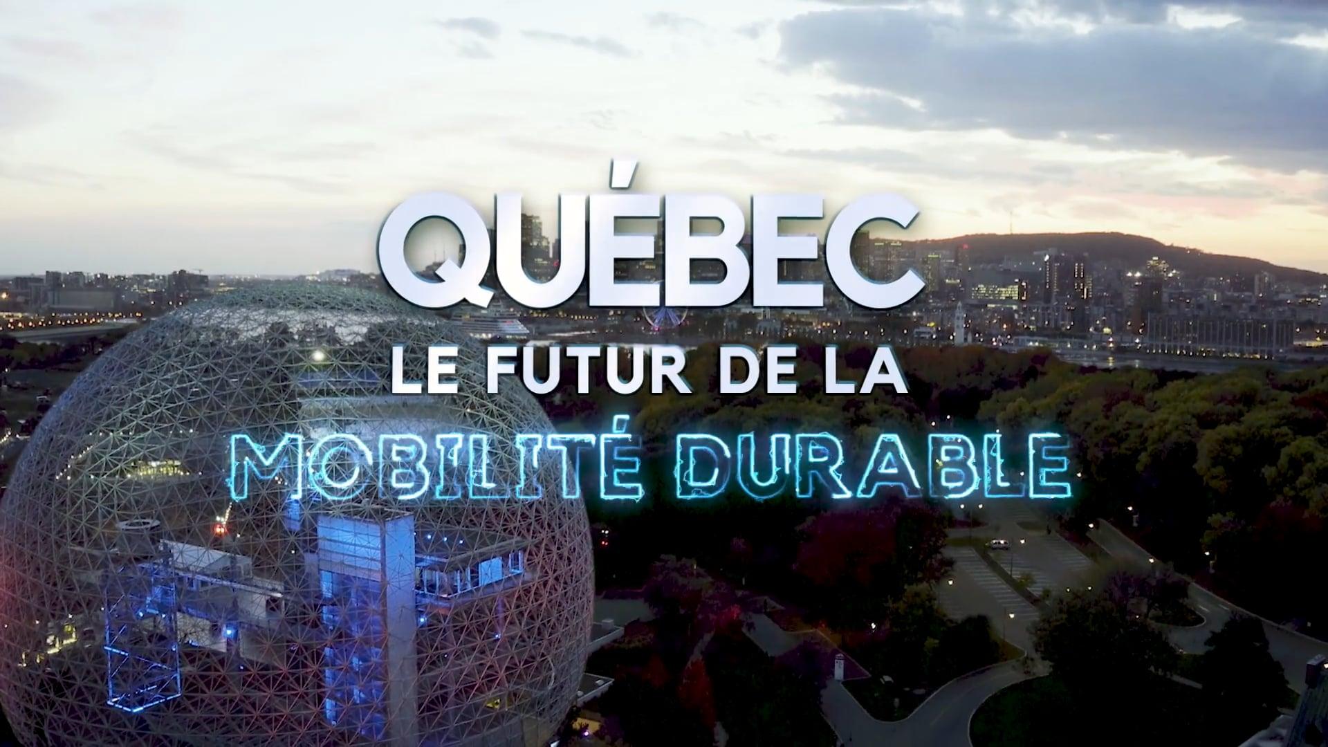 Video Mobilité Durable au Québec 2018