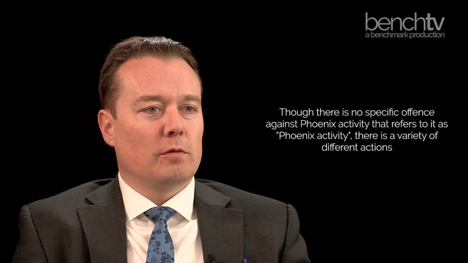 What is Phoenix activity and how does the law (attempt to) regulate it?