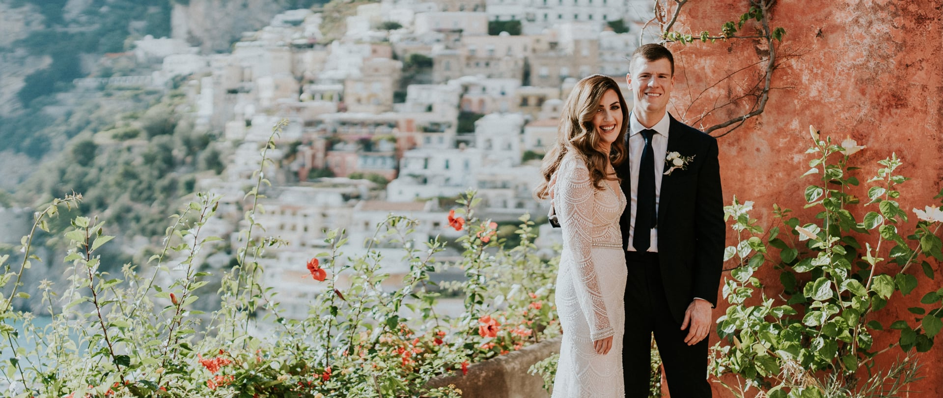 Megan & Charles Wedding Video Filmed at Positano, Italy