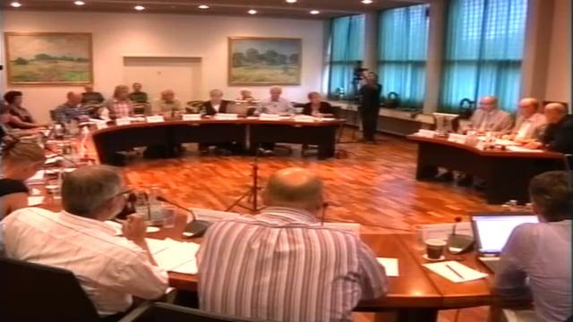 Byrådsmøde d. 24 august 2010