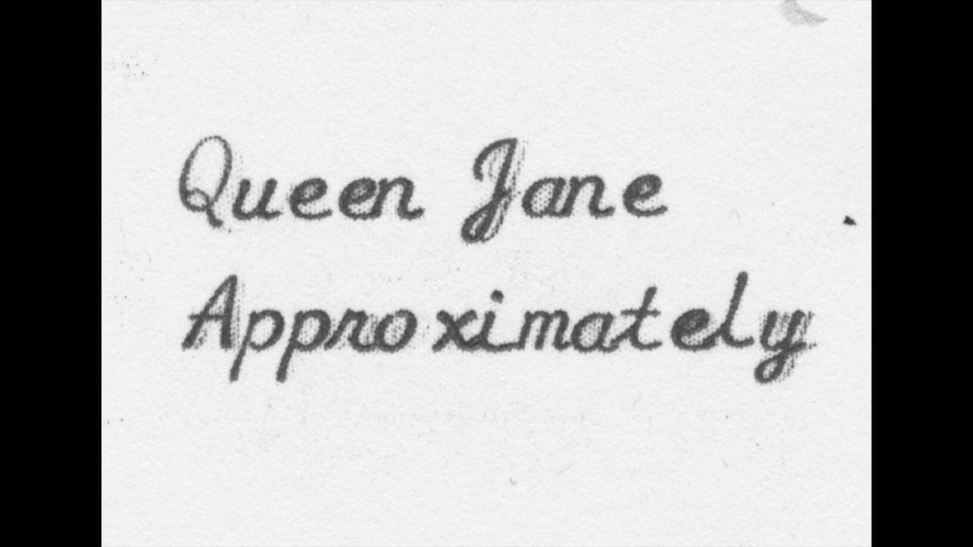 Queen Jane Approximately (2018) Katrina M. Dixon & Brian L. Frye