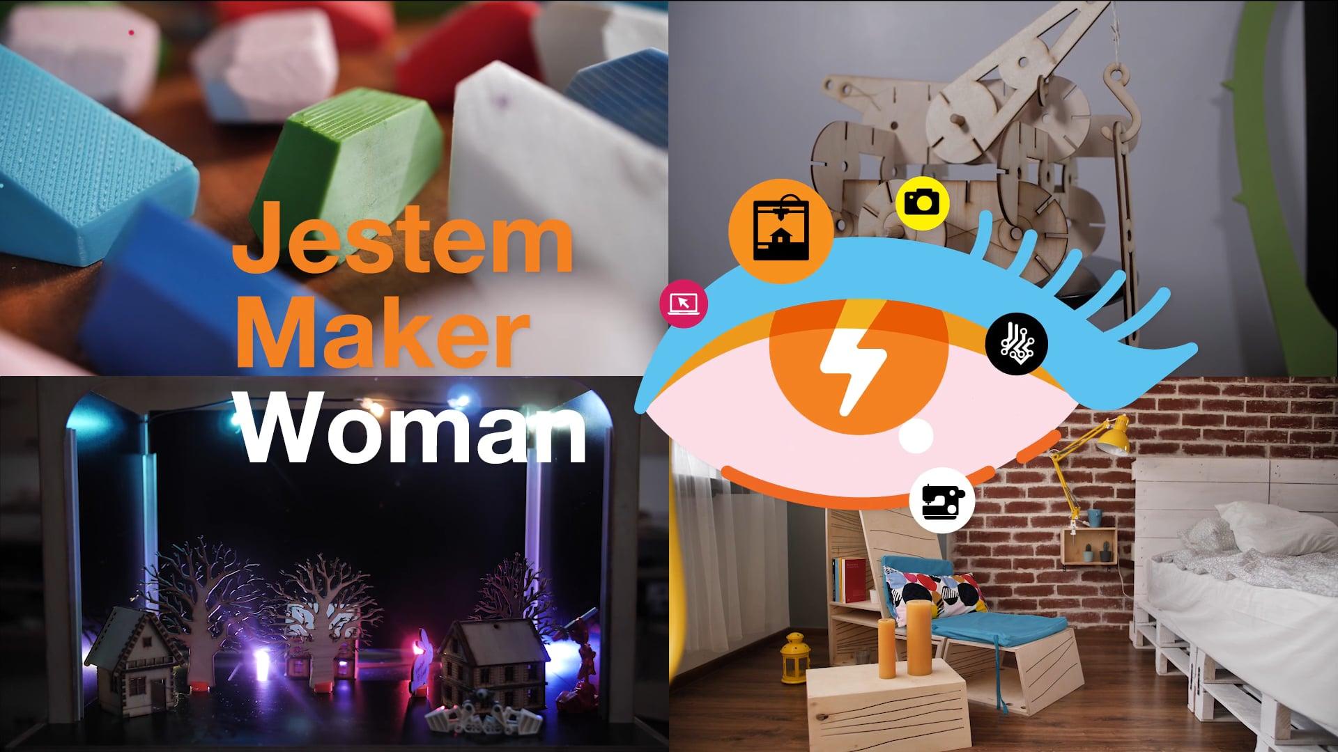 Fundacja Orange. Maker Woman - stories