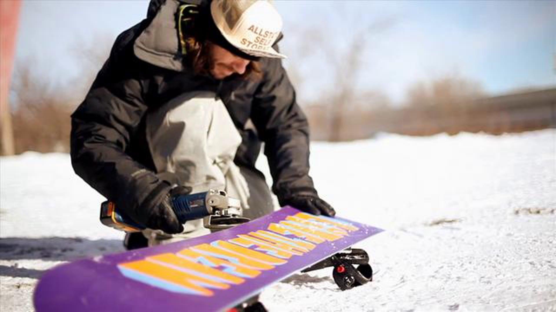 ACTION SPORTS: Jeremy Jones B Section | Burton Board Film | 2010