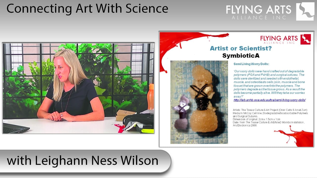 Connecting Art with Science with Leighann Ness Wilson