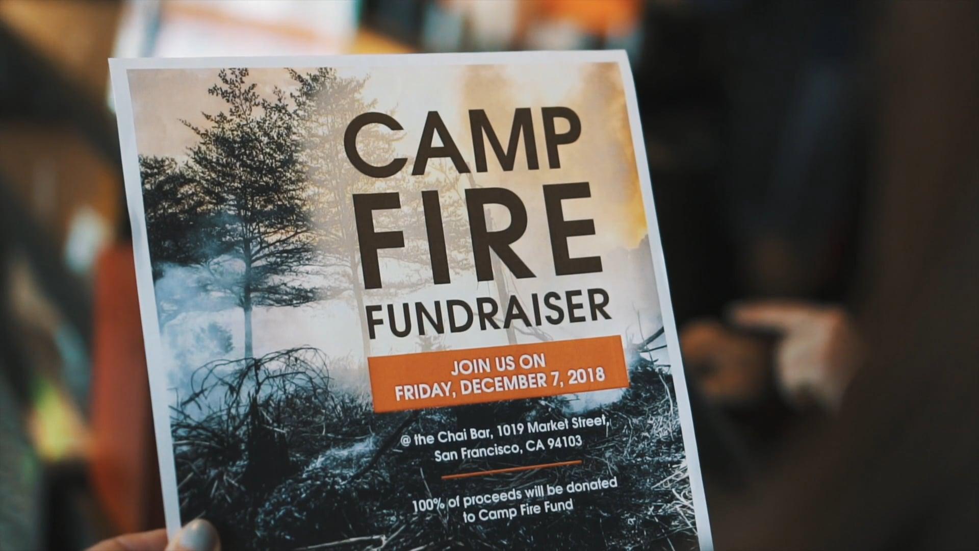 Camp Fire Fundraiser   Chai Bar SF + IFAW