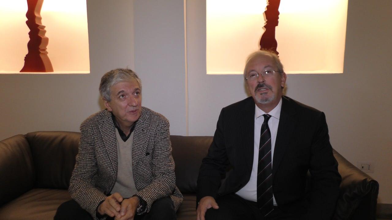 COMARE 2018, ENTREVISTA DR MARCOLIN  DR MANZINI PIETRO, POR DR REY