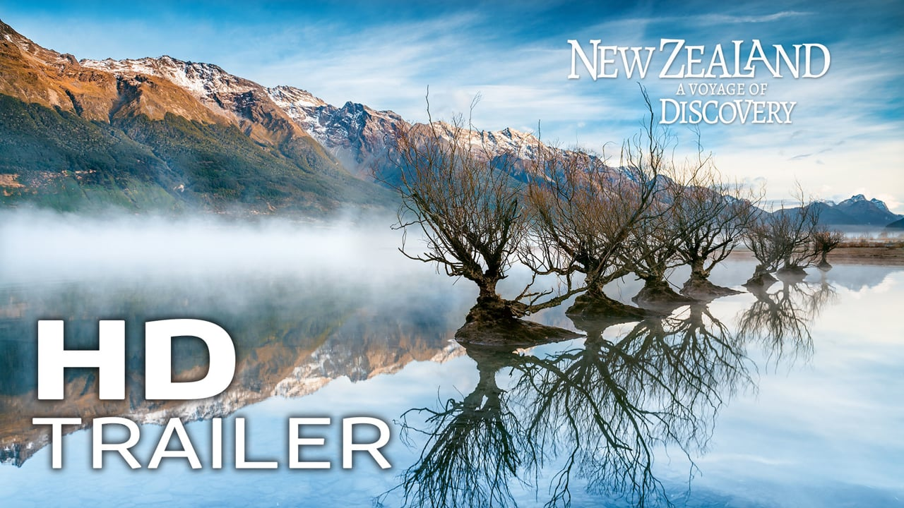 Official MOVIE TRAILER / New Zealand - A Voyage of Disyovery