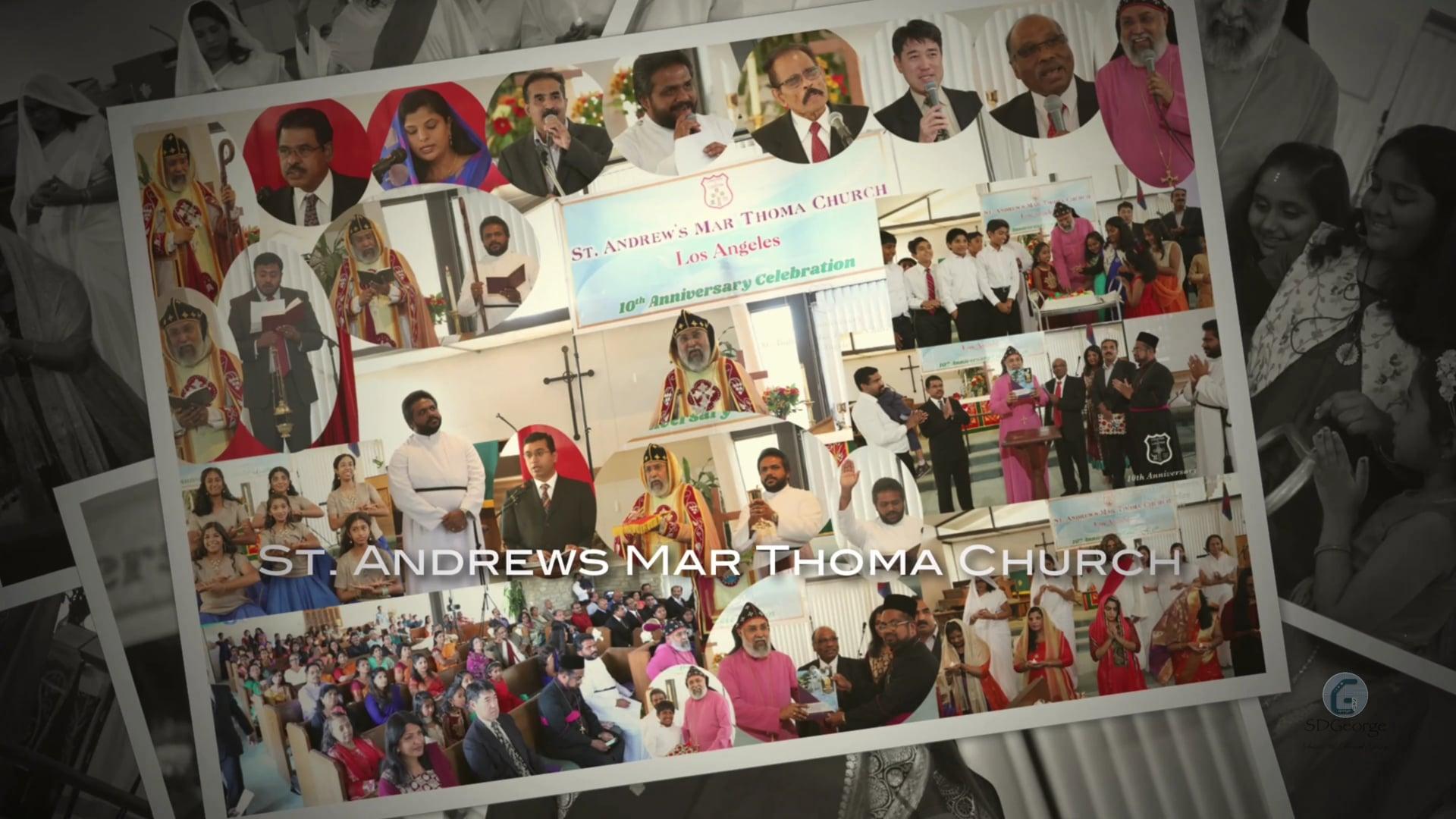 St Andrews Mar Thoma Church 10th Anniversary Service & Celebration