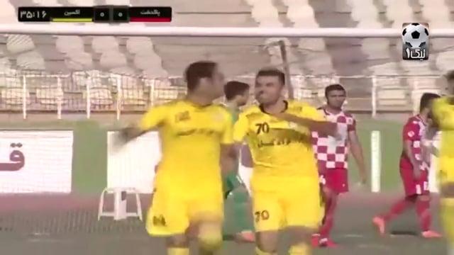 SorkhPooshan v Oxin Alborz - Highlights - Week 15 - 2018/19 Azadegan League