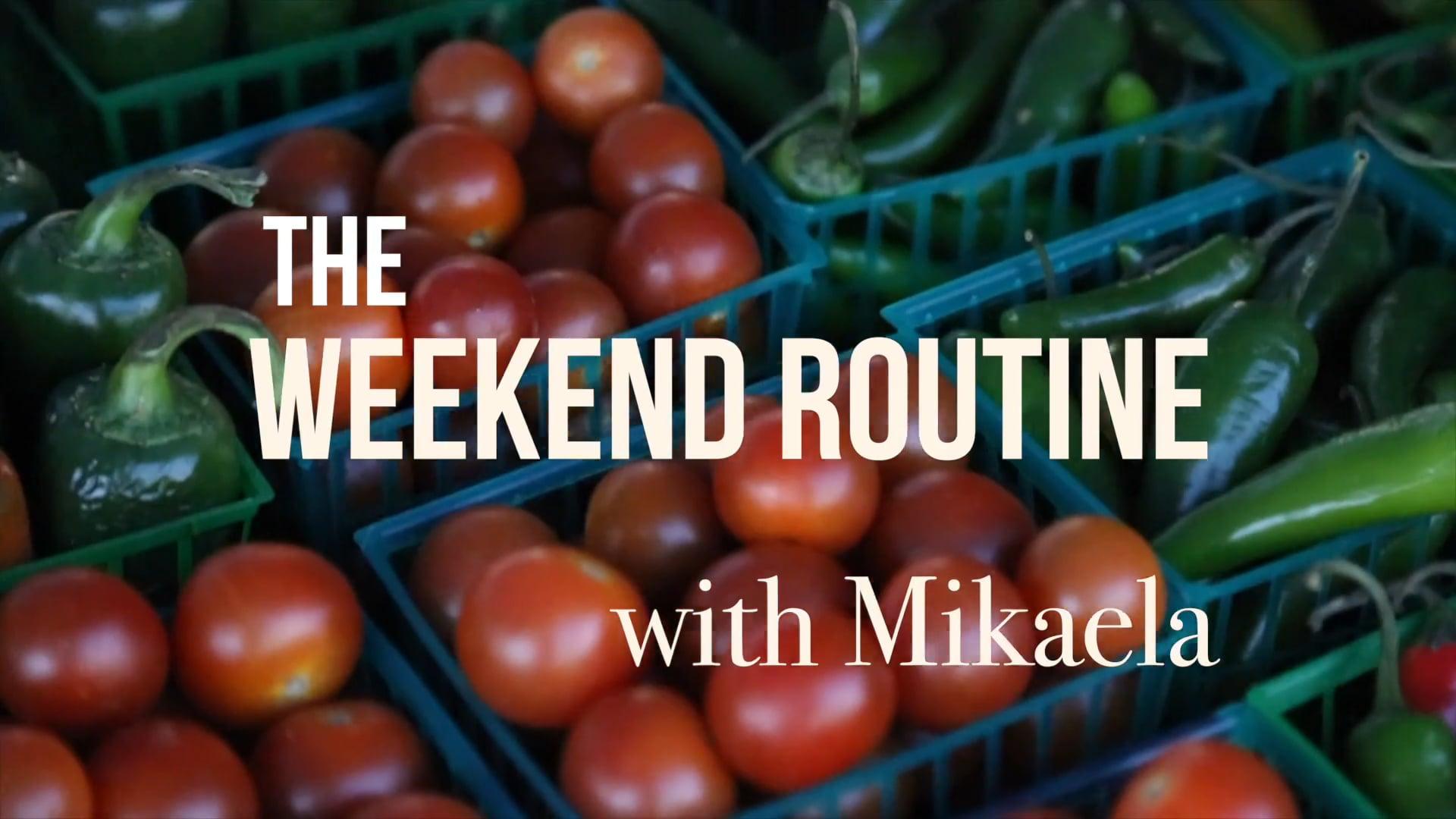 California Farmers' Market Alliance - Saturday Routine