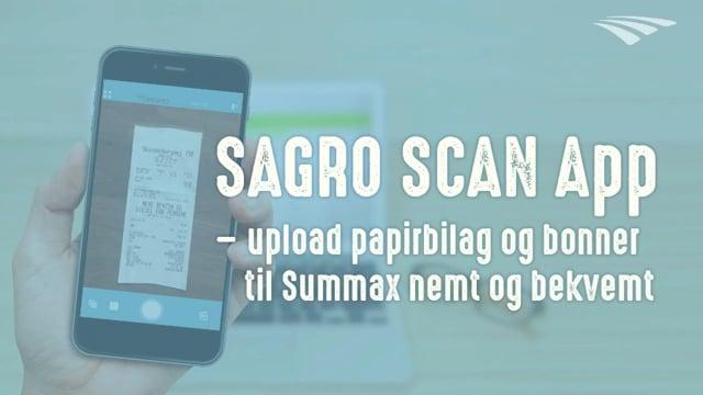 SAGRO SCAN App