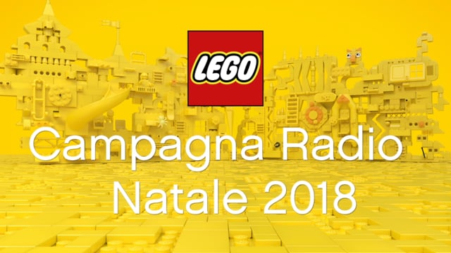 LEGO NATALE 2018 RADIO